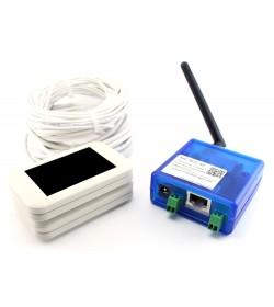 Счётчик посетителей MC-WiFi через беспроводную сеть WiFi